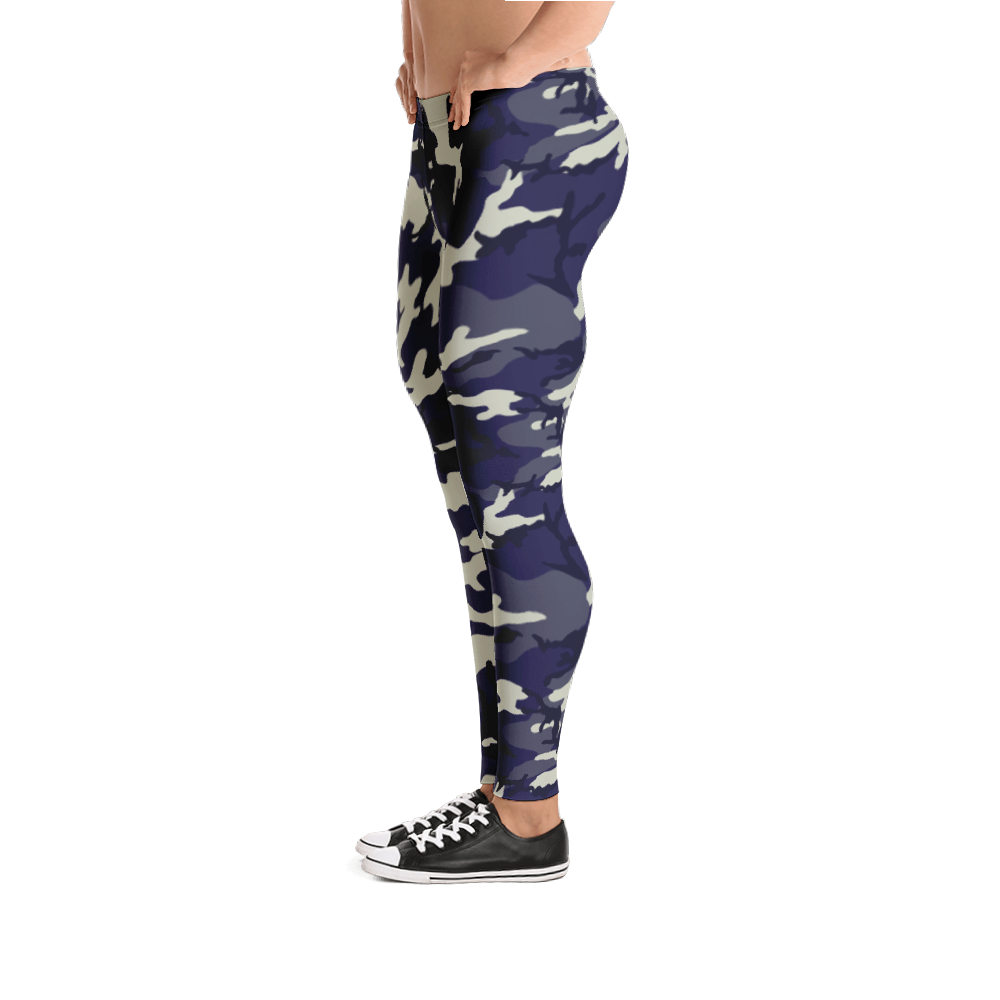 Camo Canine Leggings for Men