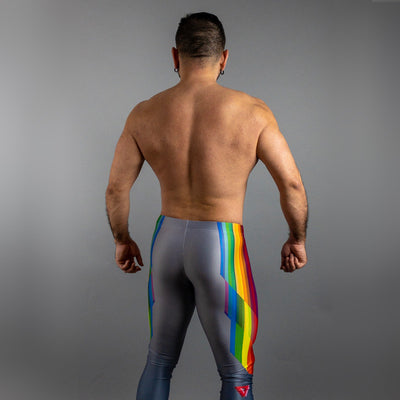 Pride Bodybuilding Tights (Silver)
