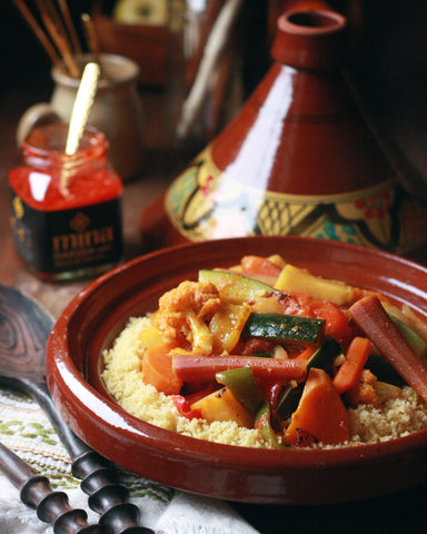 Moroccan Couscous And Harissa Couscous Recipes Mina