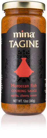 Fish Tagine Cooking Simmer Sauce