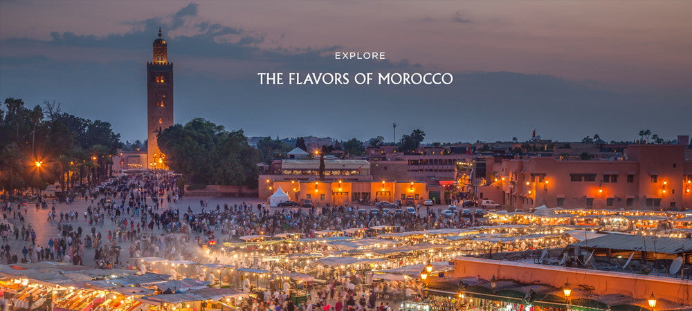 Explore the flavors of Morocco