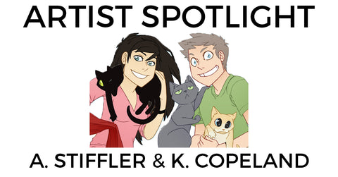 Local Artist Spotlight #2 — A. Stiffler & K. Copeland
