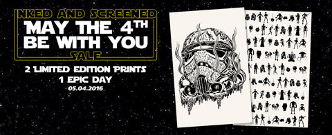 2 New Designs for a Happy Star Wars Day - May the Fourth Preview!