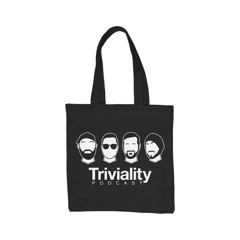The Faces of Triviality - Tote Bag