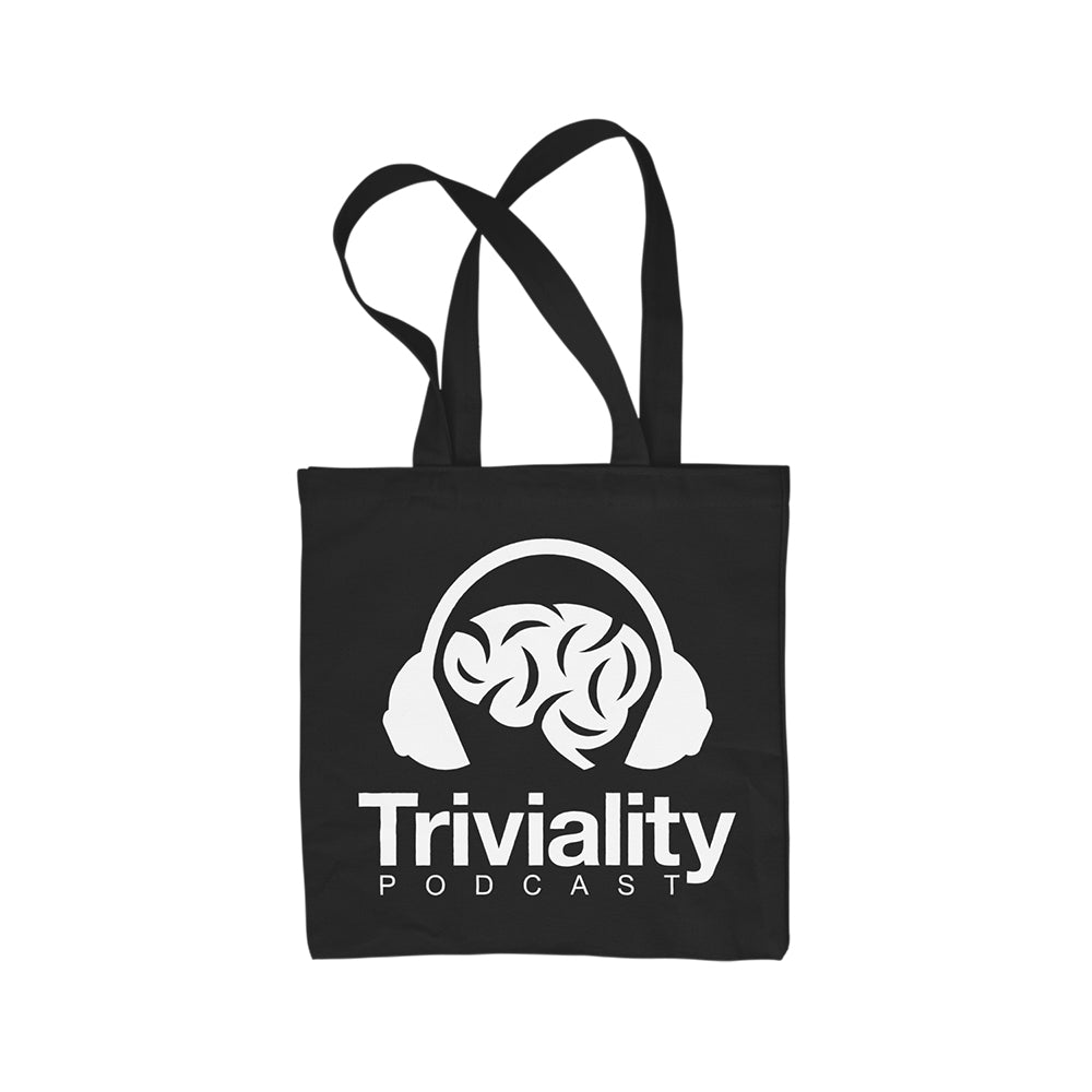 Triviality Logo - Tote Bag