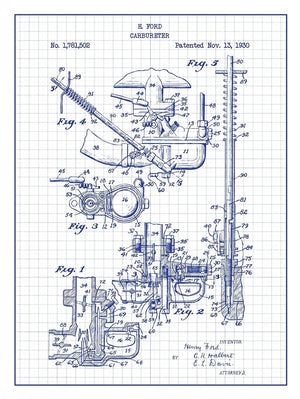 (N1) - Carbureter - H. Ford - 1930