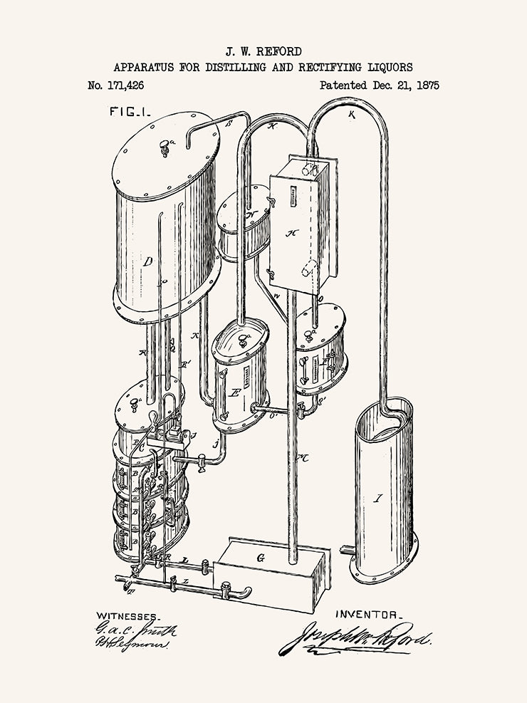 Apparatus for distilling and Rectifying Liquors #2