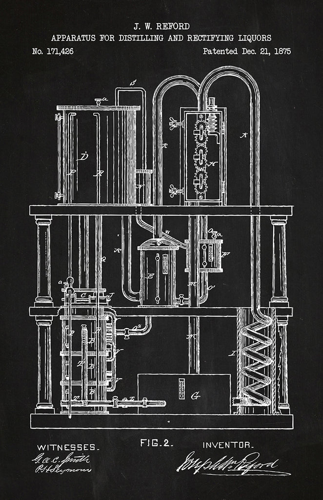 Apparatus for distilling and Rectifying Liquors #1