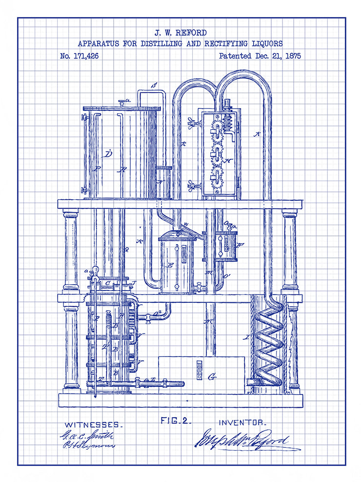 (H10) - Apparatus for distilling and Rectifying Liquors #1