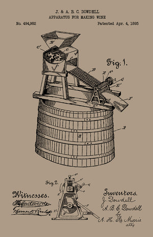 Apparatus for Making Wine