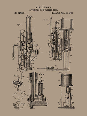 Apparatus for Racking Beer