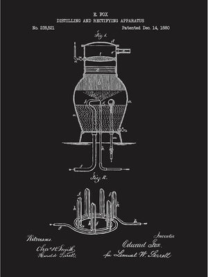Distilling and Rectifying Aparatus - Fox