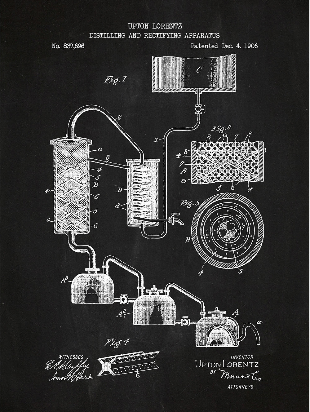 Distilling and Rectifying Apparatus - Lorentz