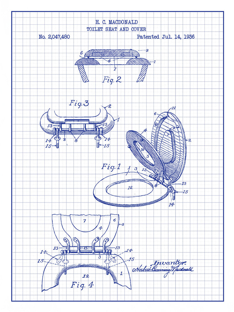 (W3) - Toilet Seat and Cover