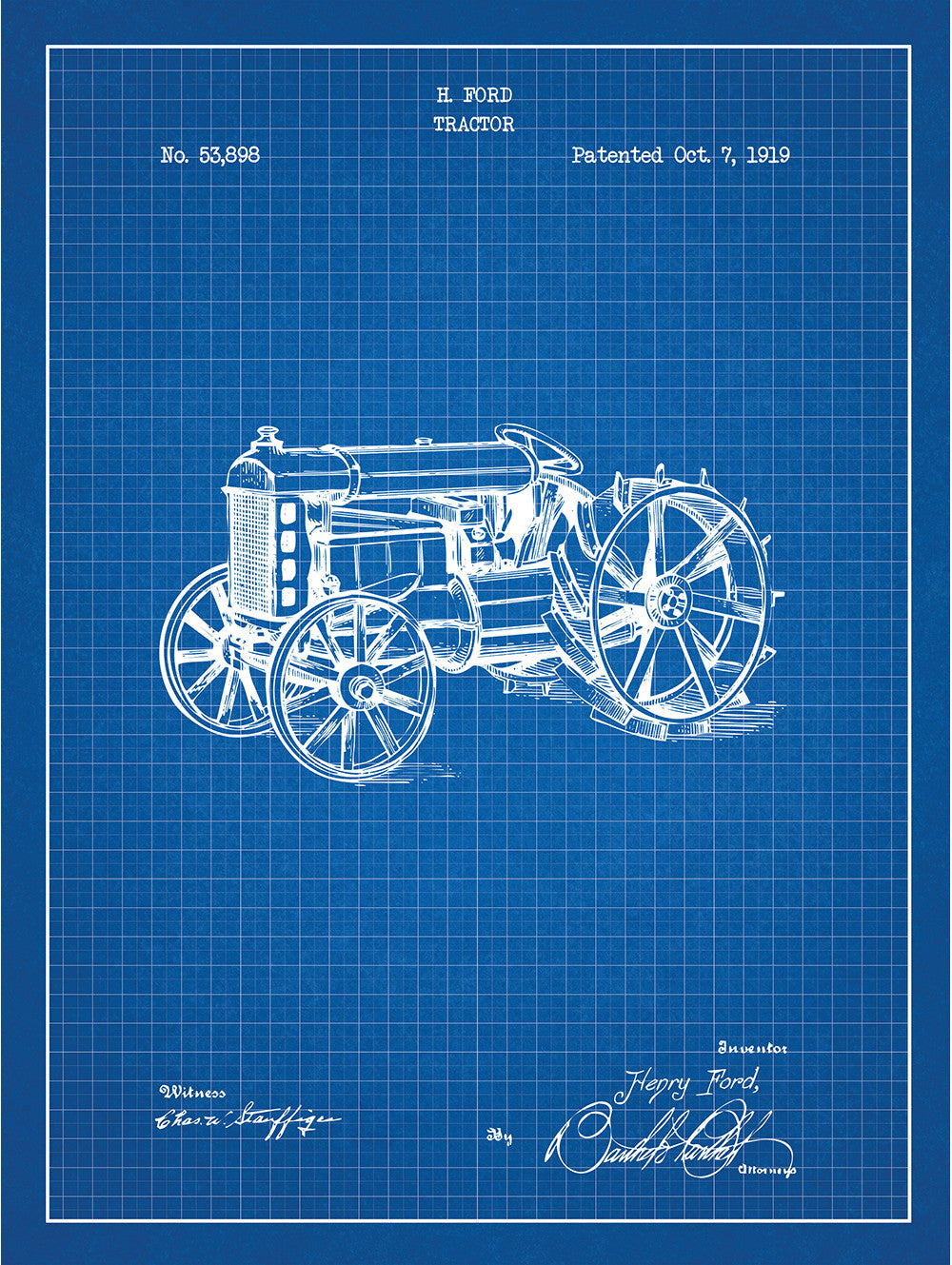 Ford Tractor - H. Ford - 1919
