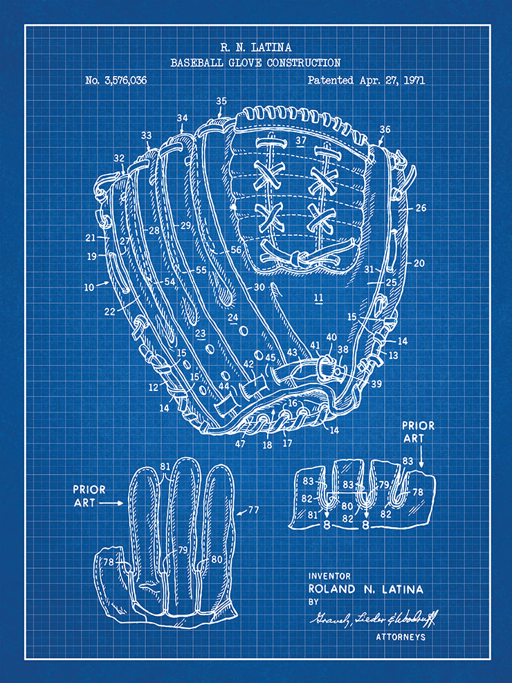 Baseball Glove Construction