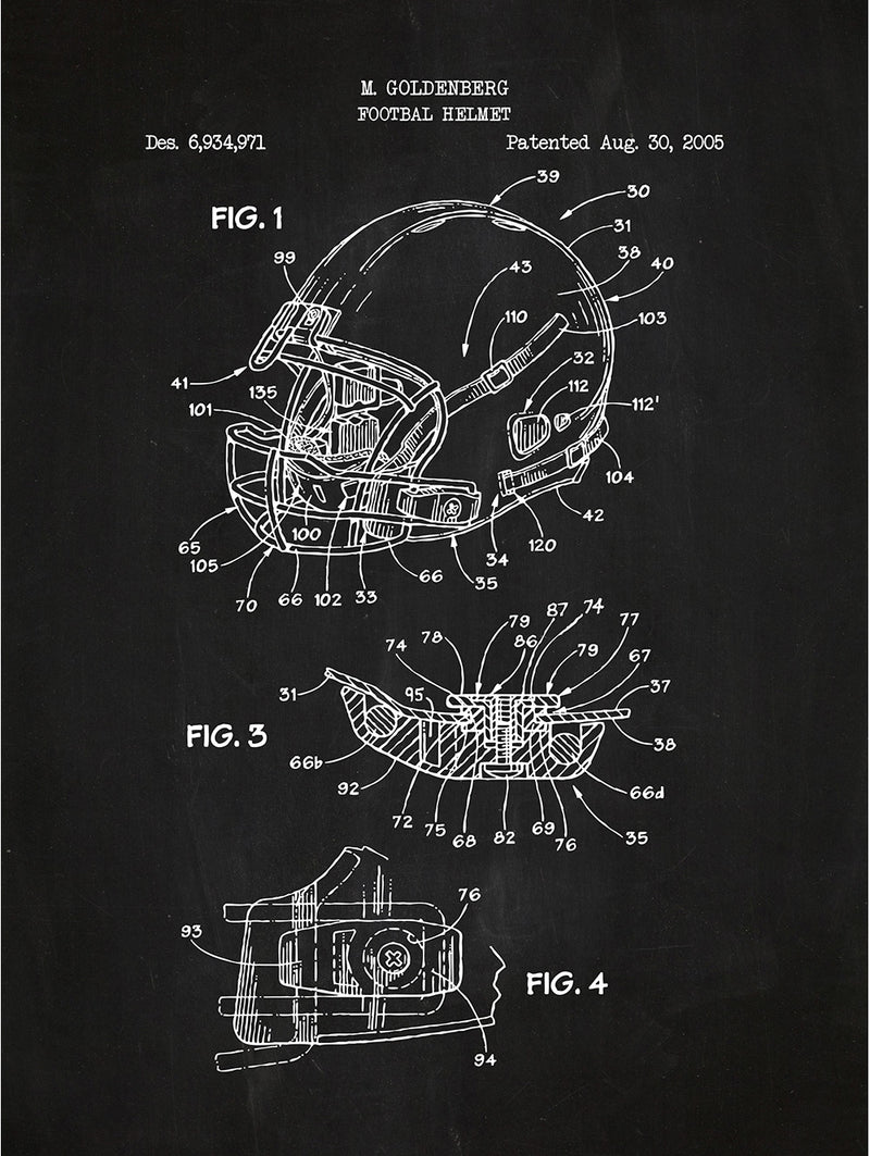 Modern Football Helmet