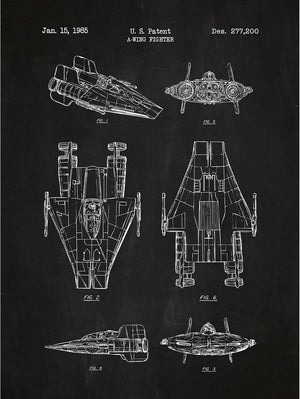 Star Wars Vehicles: A-Wing Fighter