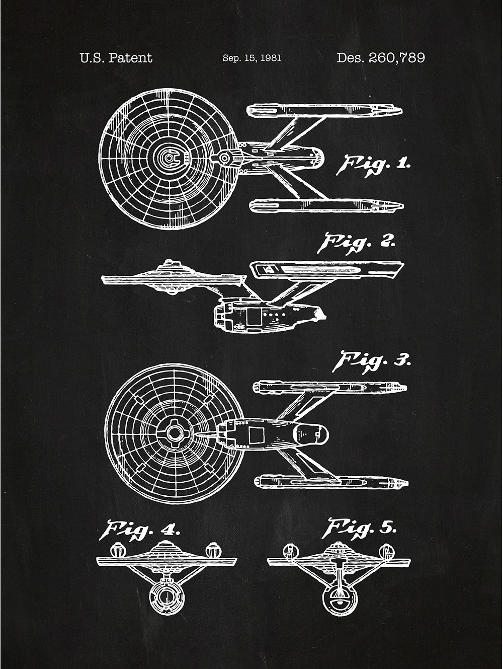 (U4) - Star Trek Enterprise - 1981