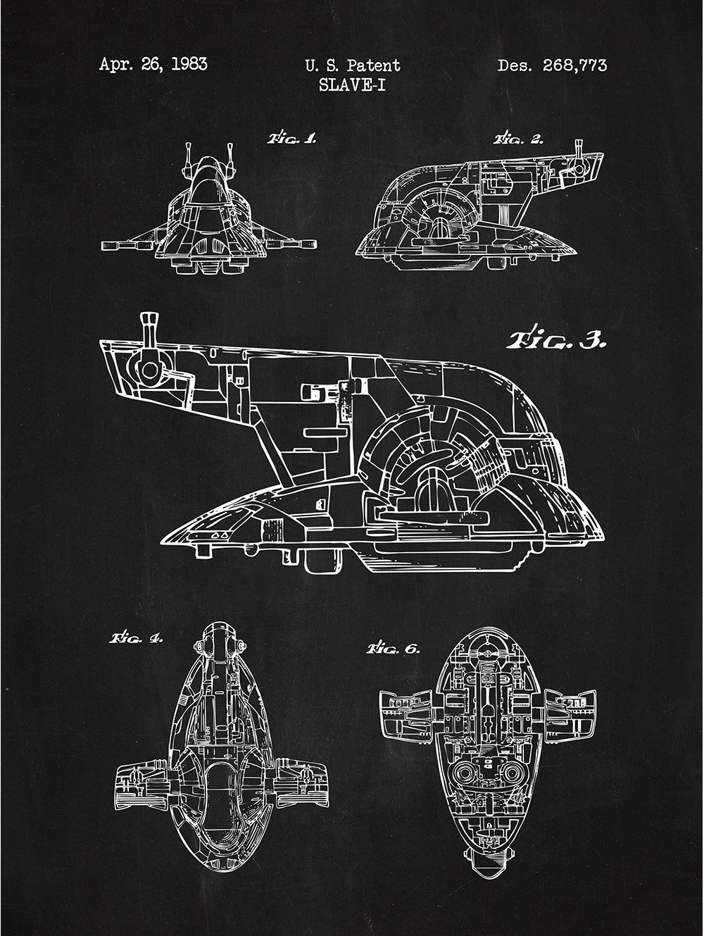 (U20) - Star Wars Vehicles: Slave-I