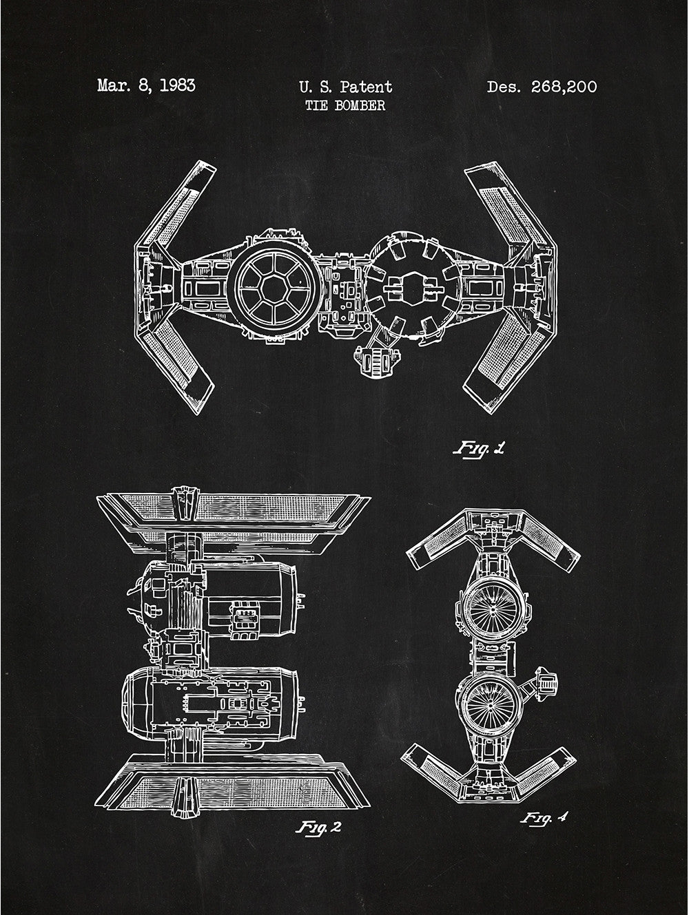 (U19) - Star Wars Vehicles: Tie Bomber