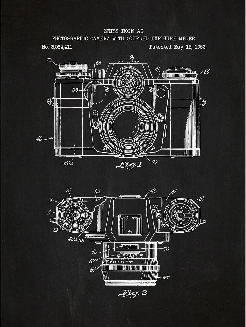 Photographic Camera - Zeiss Ikon AG - 1962