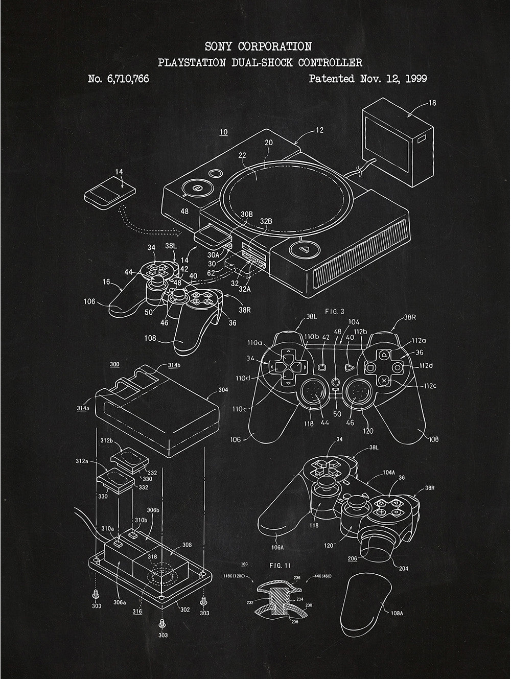 (J6) - Playstation Dual Shock Controller