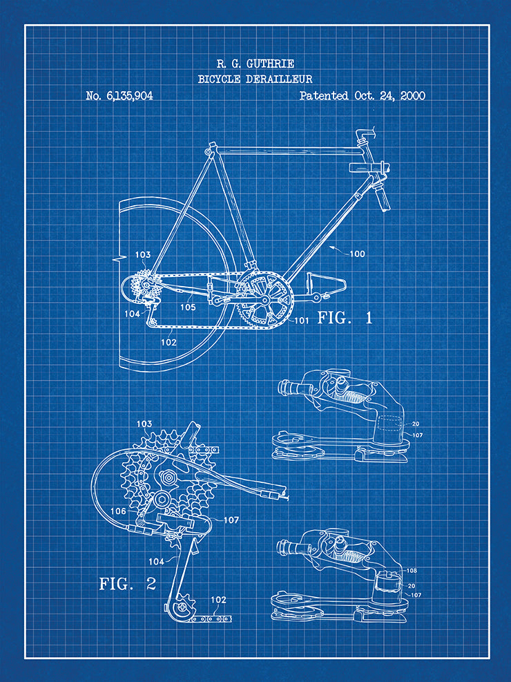 (W7) - Bicycle Derailleur - R. Guthrie - 2000