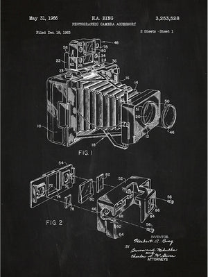 (J18) - Photographic Camera Accessory - H.A. Bing - 1966