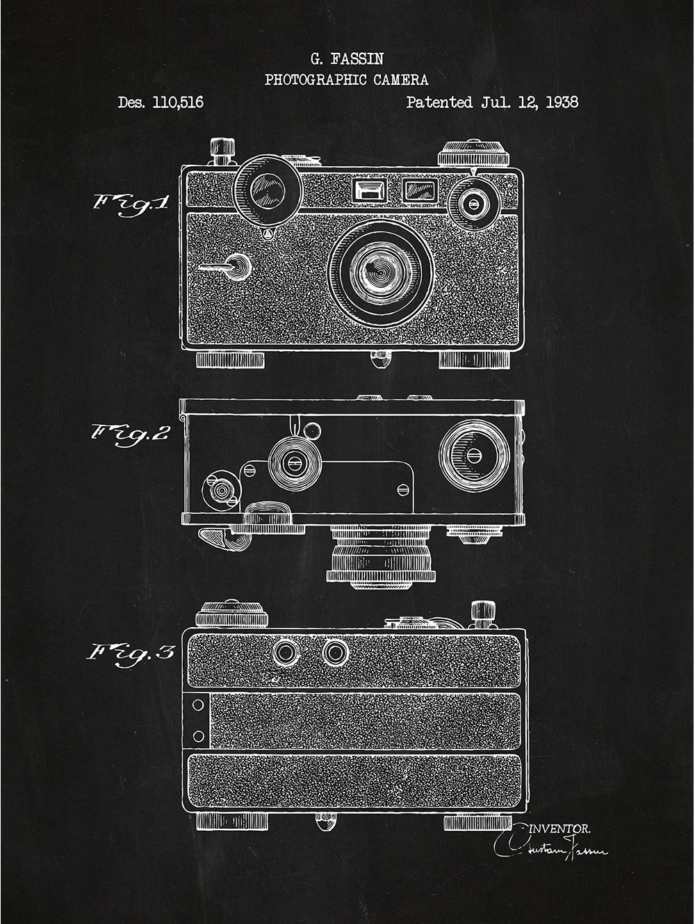 (J19) - Photographic Camera - G. Fassin - 1938