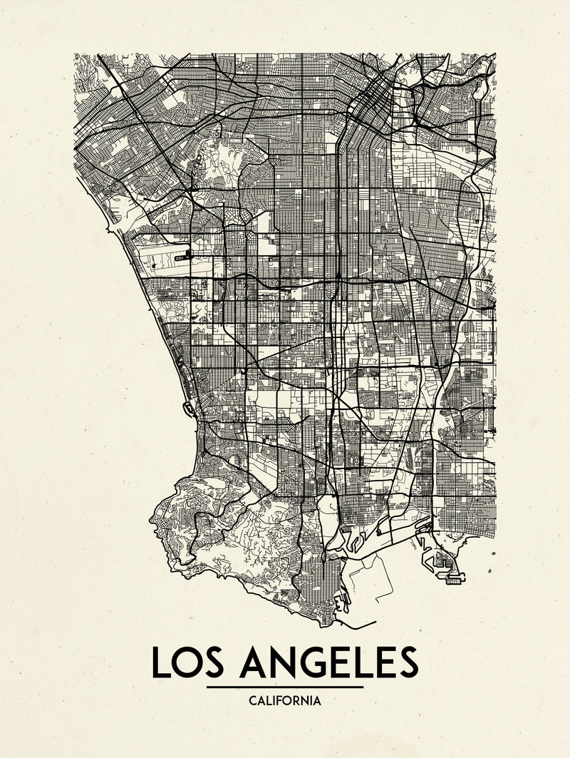 Los Angeles - Minimal Map
