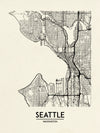 Seattle - Minimal Map