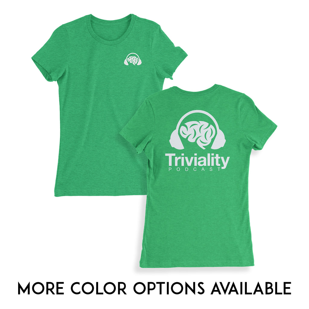 Triviality Ladies Double Sided Tee