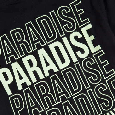 Paradise Dance Energy<br>Black tee (back print)