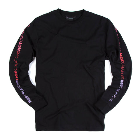 Hot Creations<br>Black long sleeve tee