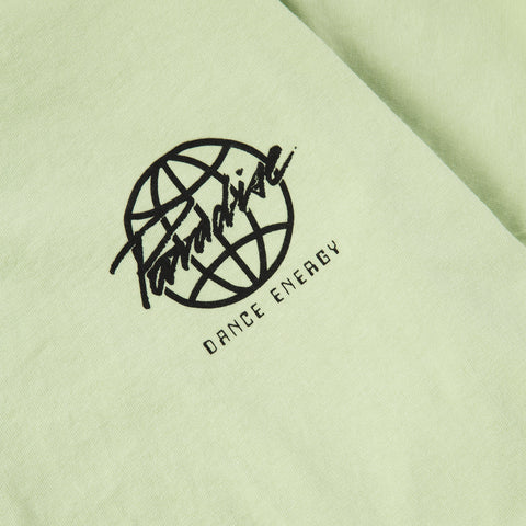 Paradise Dance Energy<br>Acid green tee