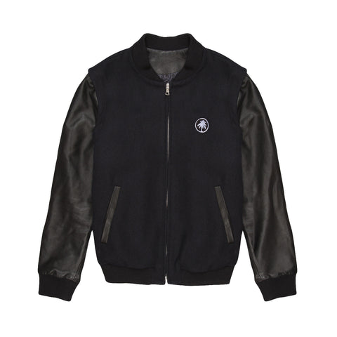 Hot Creations<br>Black varsity jacket