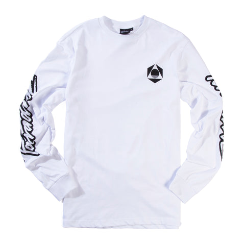 Paradise<br>White long sleeve tee