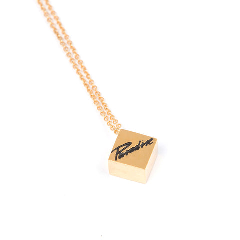 Paradise<br>Cube necklace