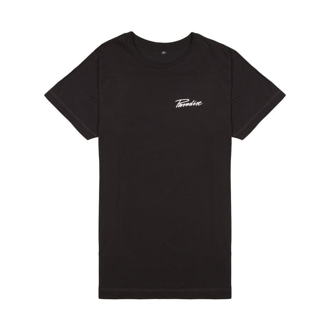 Paradise Electric Jungle<br>Black tee (Back Print)