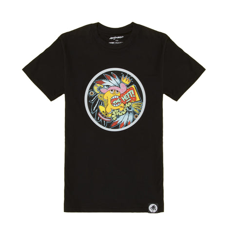 Hot Creations x Mikey Brain<br>Black tee