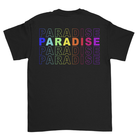 Paradise Colour Odyssey<br>Black tee V2