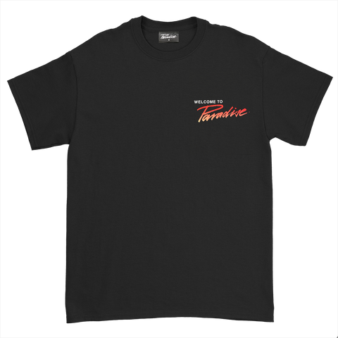 Paradise x Millinsky Alligator<br>Black tee