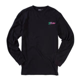 Paradise<br>Black long sleeve tee