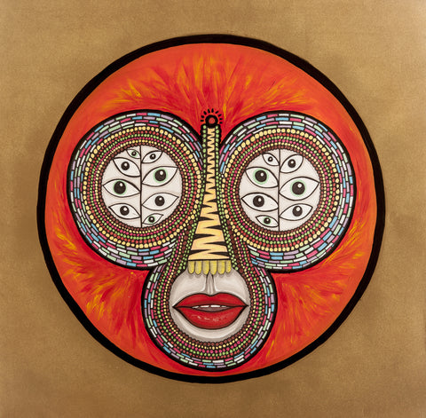 Mikey Brain Hot Creations Print <br>Richy Ahmed - The Drums