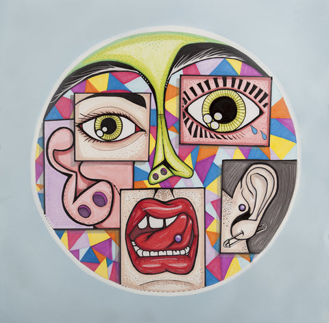 Mikey Brain Hot Creations Print <br>Patrick Topping - Boxed Off