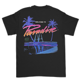Paradise x Millinsky Swimming Pool<br>Black tee
