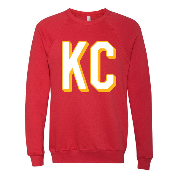 Block KC Sweatshirt (Red)