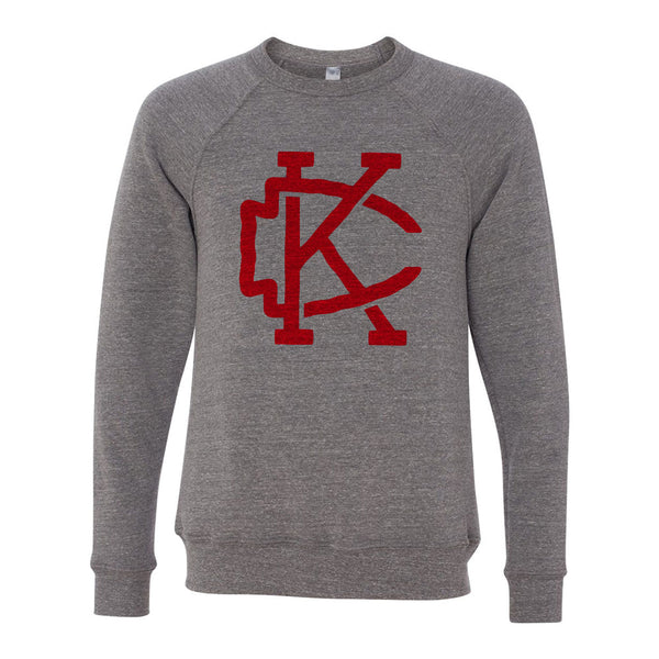 Kansas City – Arrowhead Sweatshirt (Grey)
