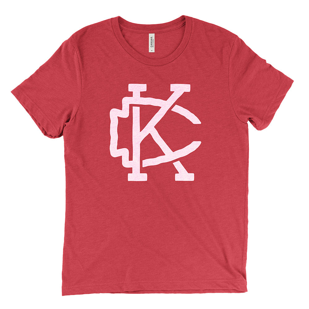 Kansas City – Arrowhead Tee (Heather Red)